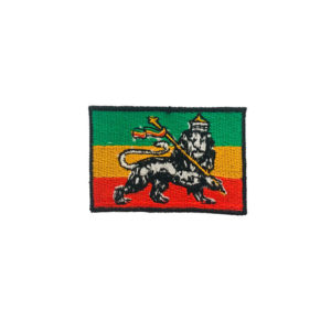 Lion of Judah - Flag - Rastafari Reggae Roots - Patch - Aufnaeher online kaufen