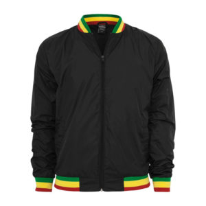 Rasta Jacket - Rastafari College Jacket - Reggae Jaket Online zu Low Prices