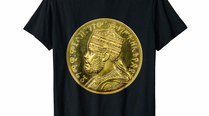T-shirt de Menelik II Rastafari