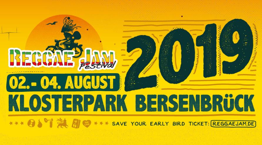 Reggae Jam 2019 - Vstupenky