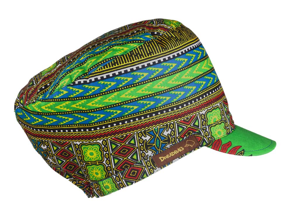 Panafrican Dreadbag Rastafari Crown