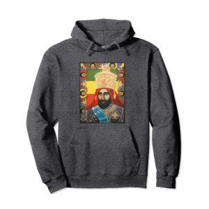 Haile Selassie Jah Rastafari Hoodie