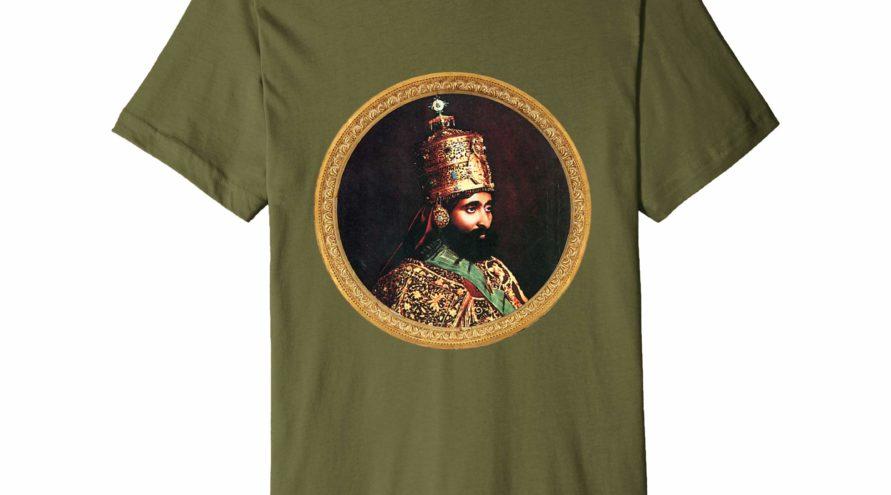 Haile Selassie – Premium Shirt