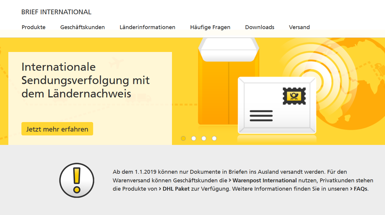 Deutsche Post Versandkostenerhöhung Dreadlocks Dreadbagde