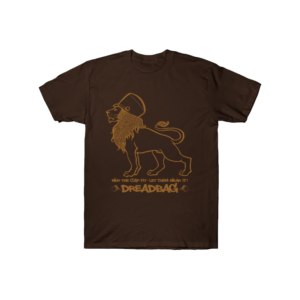 Dreadbag - Who the Cap Fit - Let's Wear It - Brown Shirt