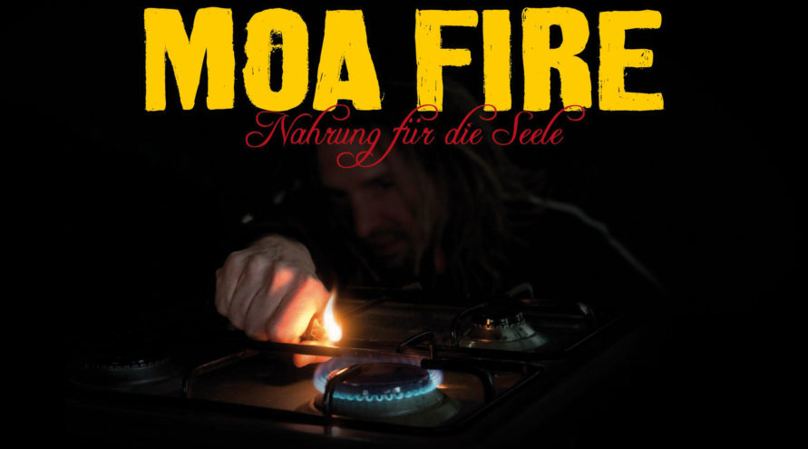 MOA FIRE #1 - Reggae Cookbook