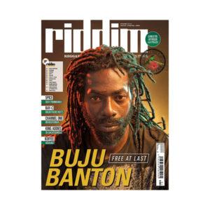 Beli Majalah Riddim Reggae & Dancehall Culture - Buju Banton
