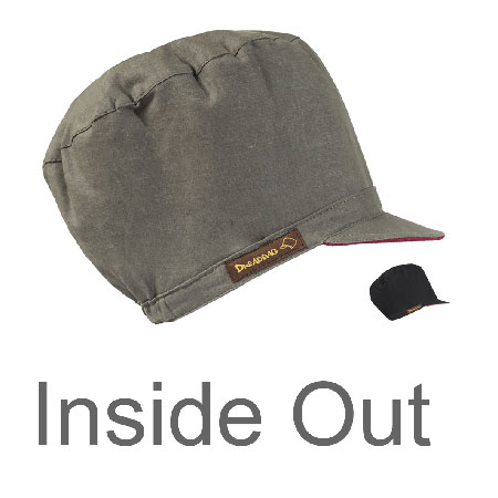 Dreadbag Inside-Out dread hat Rasta Cap vendbar hat til dreadlocks