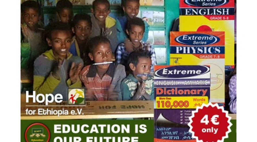 Hope for Ethiopia - school books