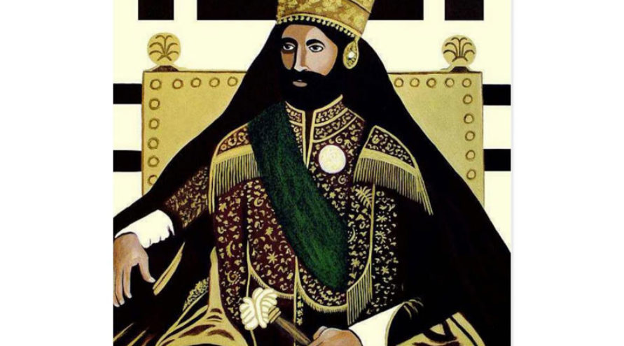 Haile Selassie - HIM - pocztówka