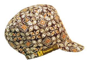 Topi Batik Indonesia Ras Muhamad Rasta Crown