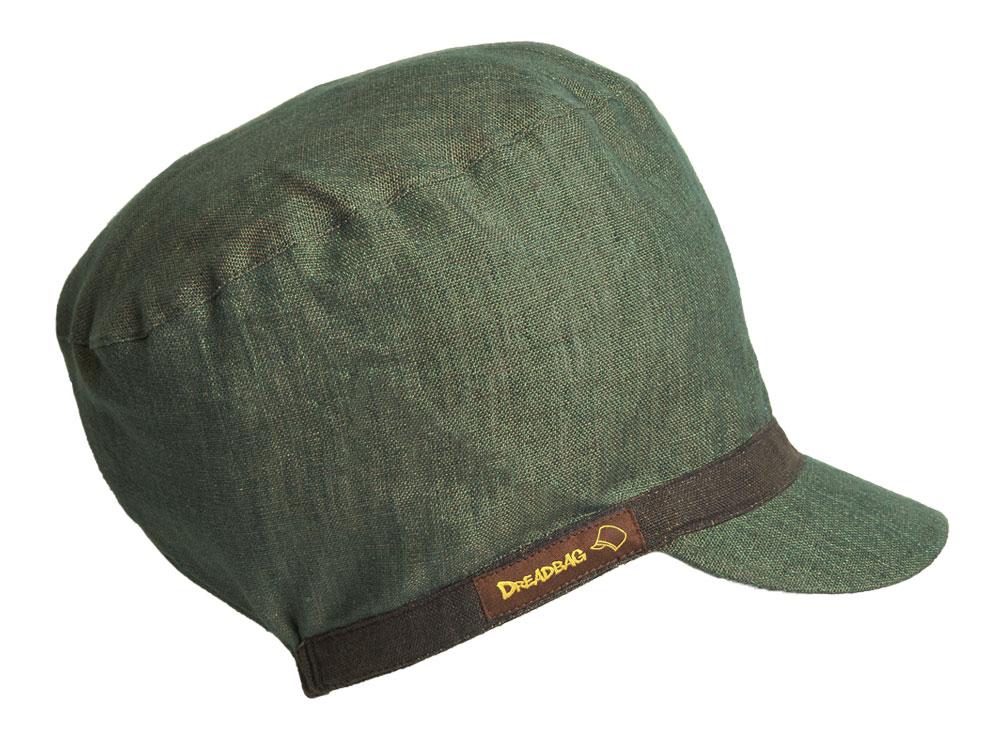 Grüner Dreadbag Leinen - Dreadlocks Mütze kaufen