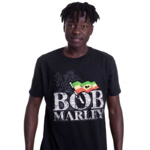 Original Bob Marley Distress Reggae Shirt kaufen