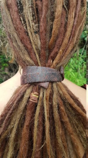 MiJoMade Dread Slap - Tie and slap your dreadlocks with a handmade Dread Slap