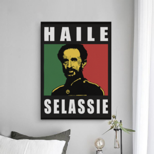 Haile Selassie Jah Rastafari Bild günstig online kaufen Kunstdruck Shop