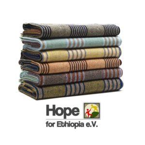 Hope for Ethiopia - Wolldecken zum kuscheln kaufen - Arme Menschen unterstützen