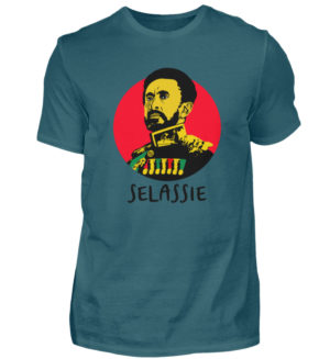 Haile Selassie Shirt - Herren Shirt-1096