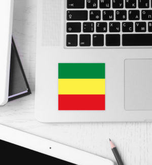 Rastafari Reggae Aufkleber - Sticker-3