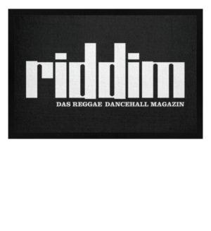 Riddim Reggae Magazin Fussmatte - Fußmatte mit Gummirand-16