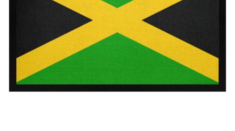 Jamaika Flagge – Fußmatte