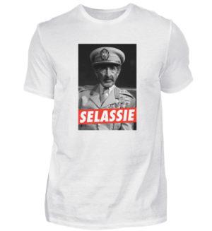 Haile Selassie Shirt - Herren Shirt-3