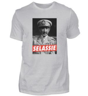 Haile Selassie Shirt - Herren Shirt-17