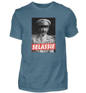 Haile Selassie Shirt - Herren Shirt-1230