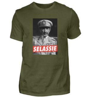Haile Selassie Shirt - Herren Shirt-1109