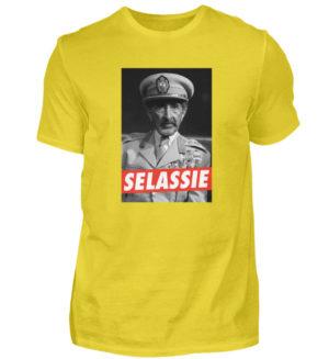 Haile Selassie Shirt - Herren Shirt-1102