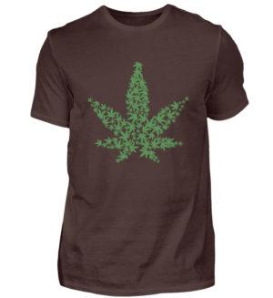 420 Mariuana Weed Shirt - Herren Shirt-1074
