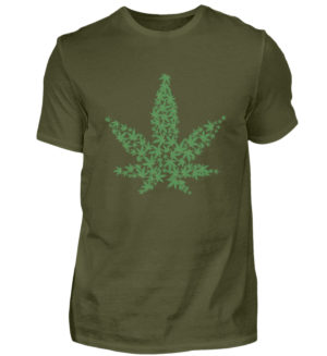 420 Mariuana Weed Shirt - Men's Shirt -1109