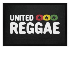 United Reggae Fussmatte - Fußmatte mit Gummirand-16