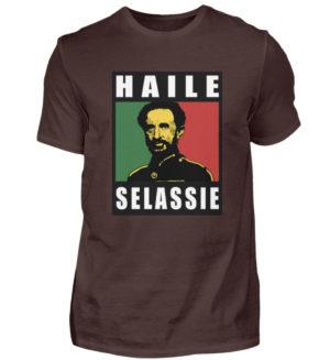 Haile Selassie Shirt 2 - Herrskjorta-1074