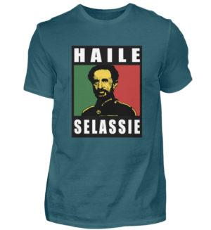 Haile Selassie Shirt 2 - Herren Shirt-1096