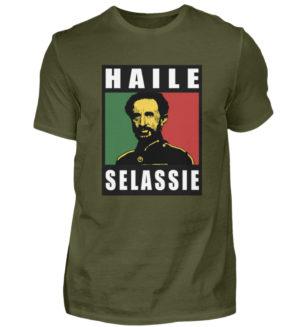 Haile Selassie Shirt 2 - Chemise pour hommes-1109