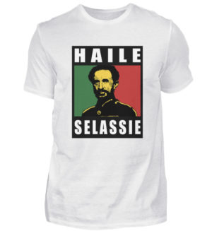 Haile Selassie Shirt 2 - Herren Shirt-3