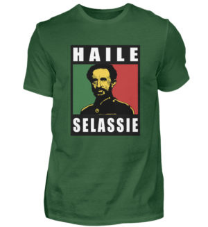 Haile Selassie Shirt 2 - Chemise pour hommes-833