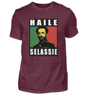 Haile Selassie Shirt 2 - Chemise pour hommes-839