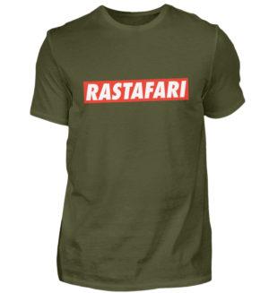 Tričko Rastafarian Reggae Roots - Pánské tričko-1109