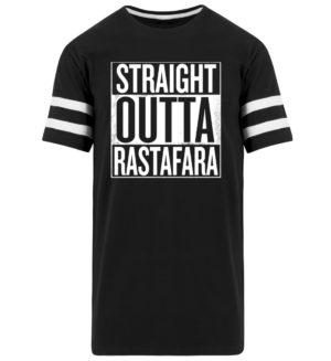Straight Outta Rastafara Shirt - Randig långskjorta för män -16