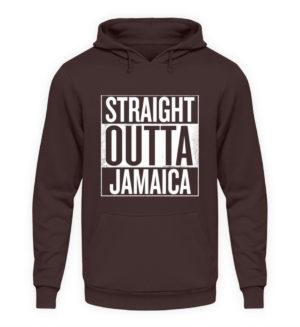 Straight Outta Jamaica Hoodie - Unisex Hooded Pullover Hoodie-1604