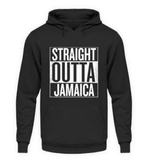 Straight Outta Jamaica Hoodie - Unisex Hooded Pullover Hoodie-1624