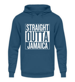 Straight Outta Jamaica Hoodie - Unisex Hooded Pullover Hoodie-1461