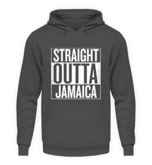 Straight Outta Jamaica Hoodie - Unisex Hooded Pullover Hoodie-1762