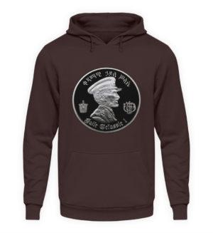 Haile Selassie Hoodie - Unisex Hooded Pullover Hoodie-1604