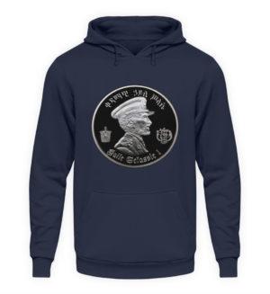 Haile Selassie Hoodie - Unisex Hooded Pullover Hoodie-1698