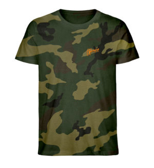 Chronixx Camouflage Organic Shirt - Creator Camouflage T-Shirt Stick ST/ST-6935