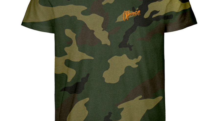 Chronixx Camouflage Organic Shirt
