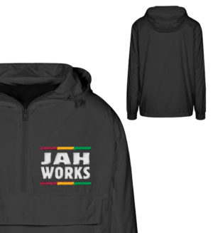 Reggae Jah Works Jacke - Urban Windbreaker mit Stick-16