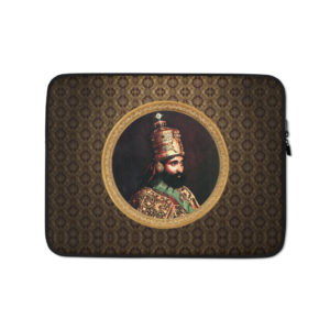 Haile Selassie I Shop Notebook Case Jah Rastafari Laptop Tasche kaufen